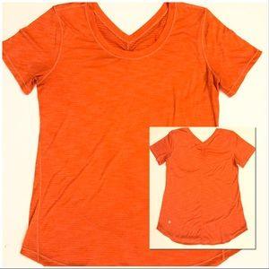 Lululemon Athletica Striped Shirt